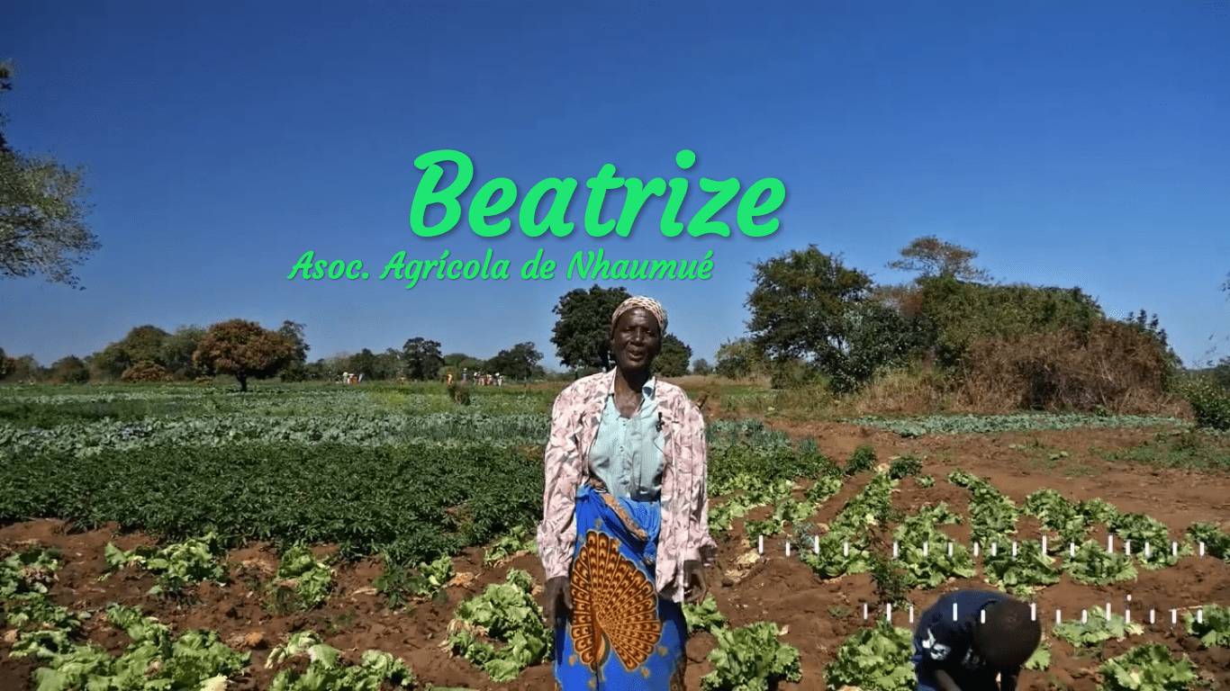 Beatrize, agricultora