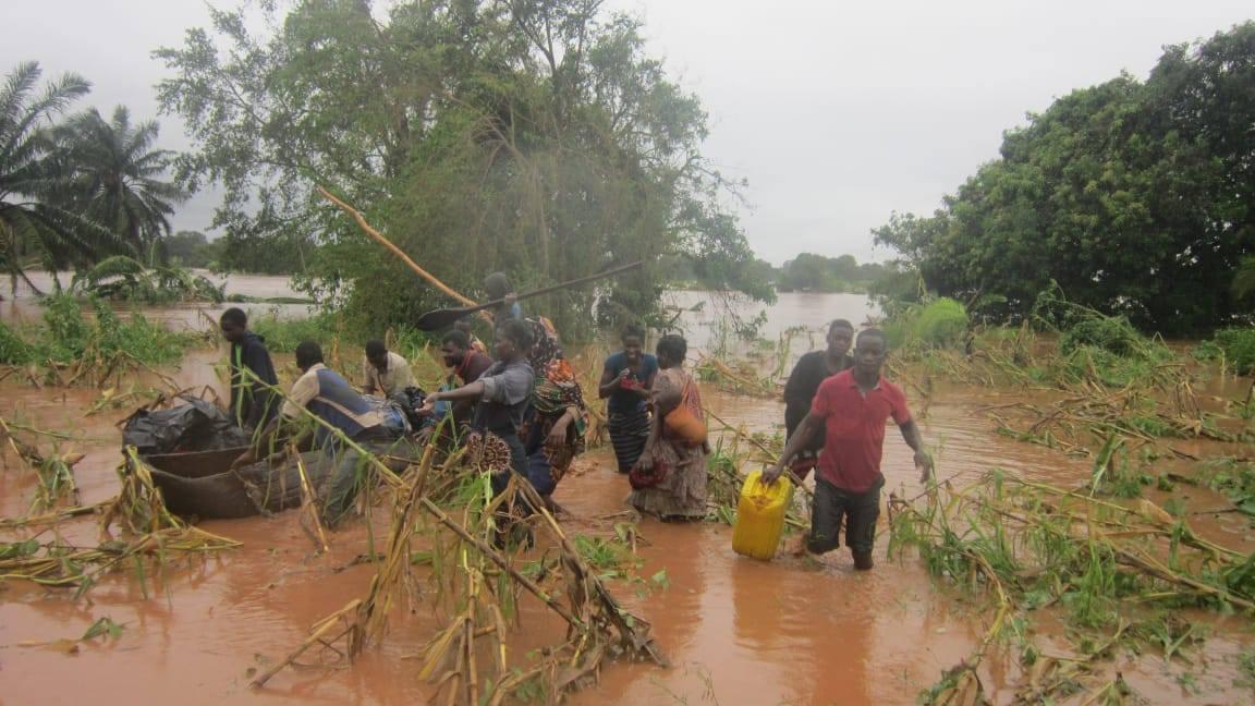 Consecuencias ciclón Idai en Mozambique