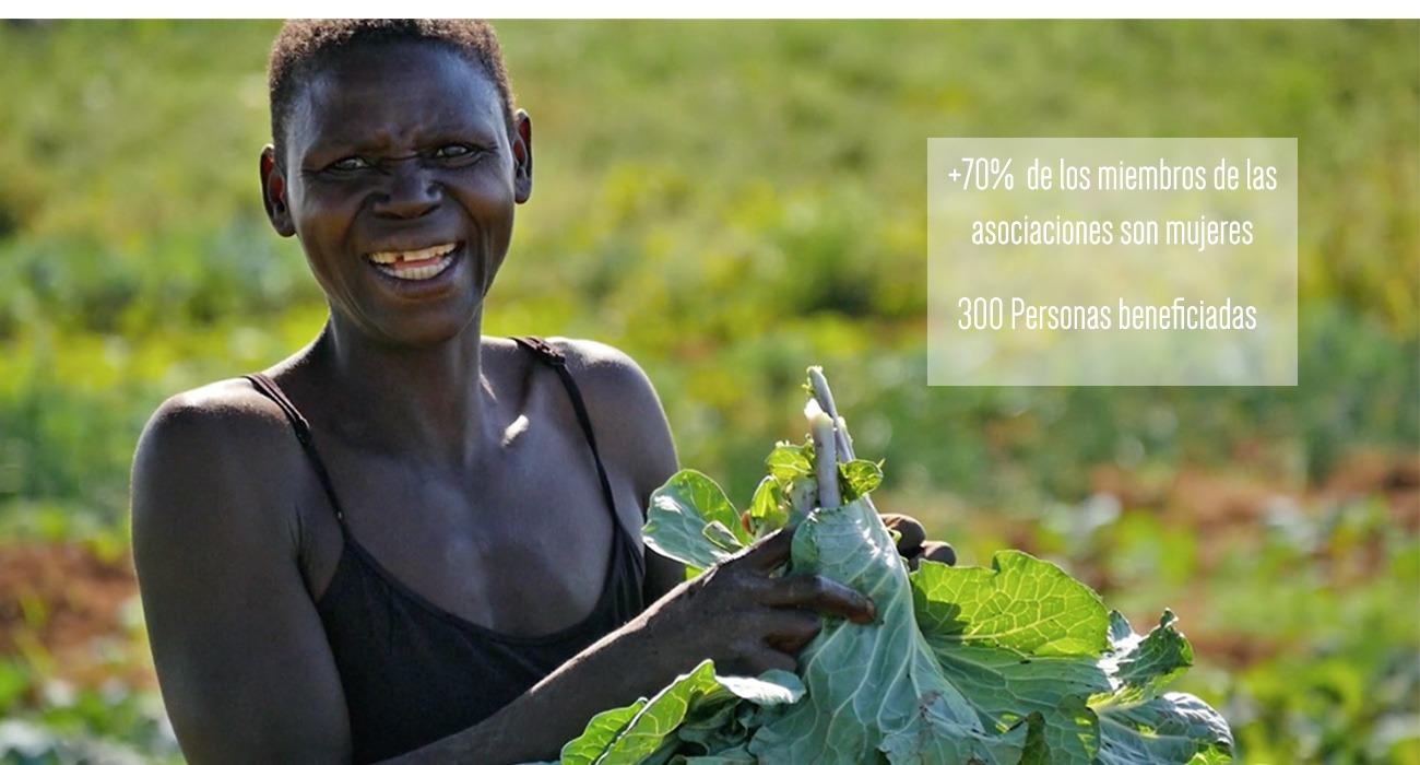 Las mujeres de Asociaciones Agrícolas