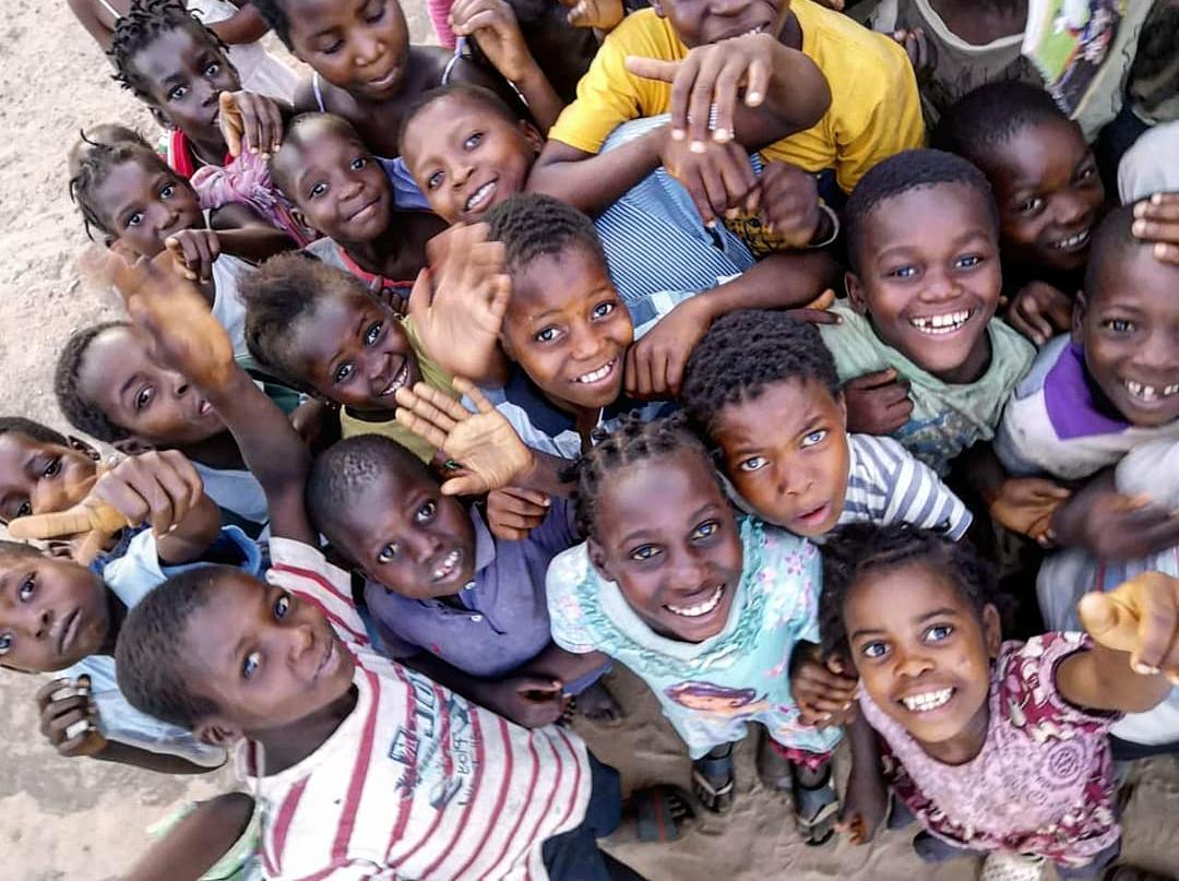 L@s niñ@s de Escolas de Paz