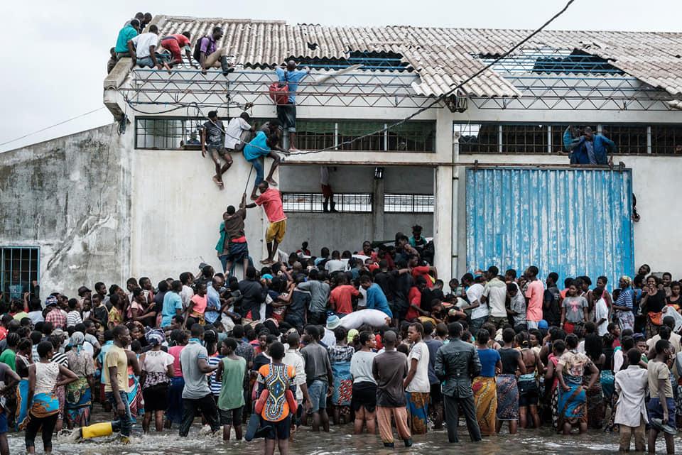 Desesperación entre la gente por el ciclón Idai